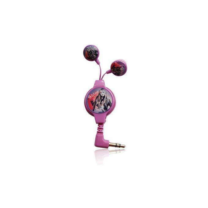 """Слушалки Disney Hannah Montana (DSY-HP770), розови, тип """"тапи"""" image"""