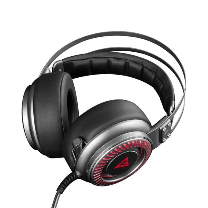 Слушалки Modecom Volcano MC-833 Saber, микрофон, гейминг, черни image