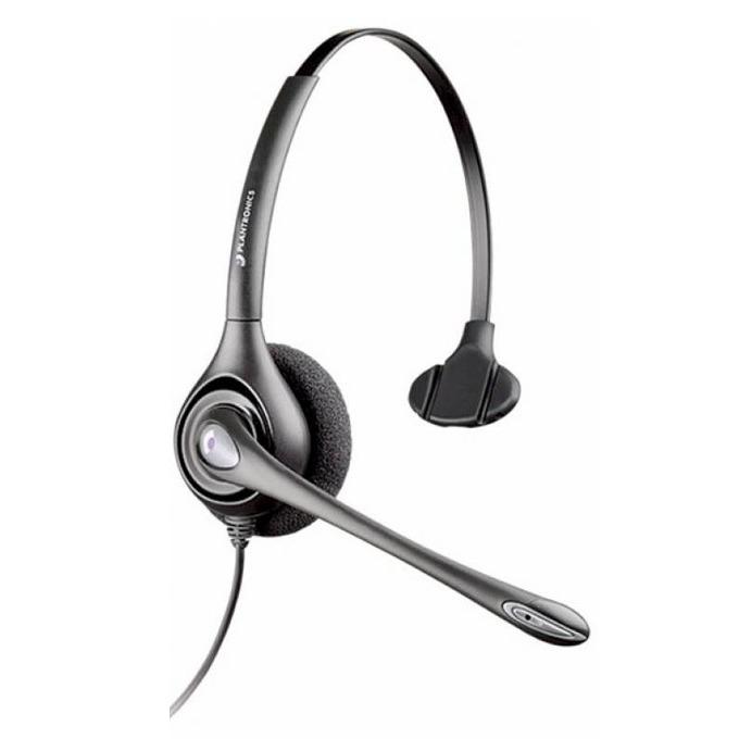 Слушалки Plantronics SupraPlus HW251N, широколентов звук, шумо-изолиращ микрофон, QD букса image