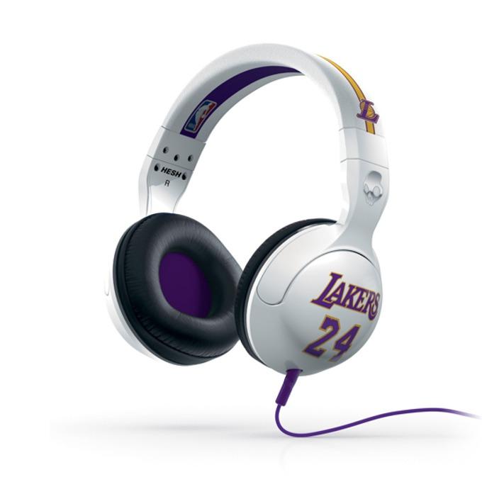 Cлушалки SkullCandy HESH 2.0 NBA Lakers Kobe Bryant, микрофон image