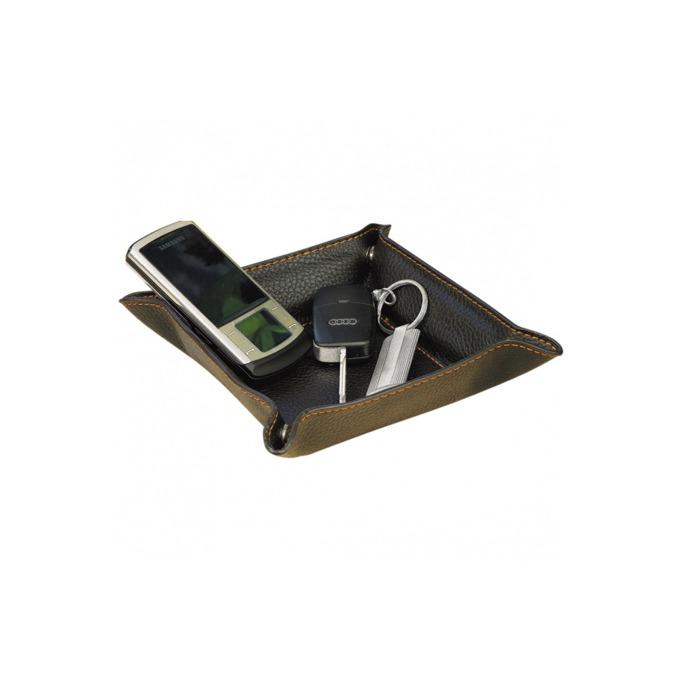 Органайзер за бюро Wedo 1301107, кожен, черен  image