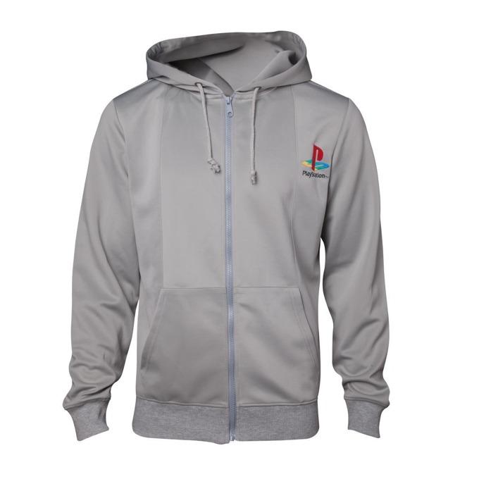Суитшърт Playstation 1 hoodie, размер XL, сив image