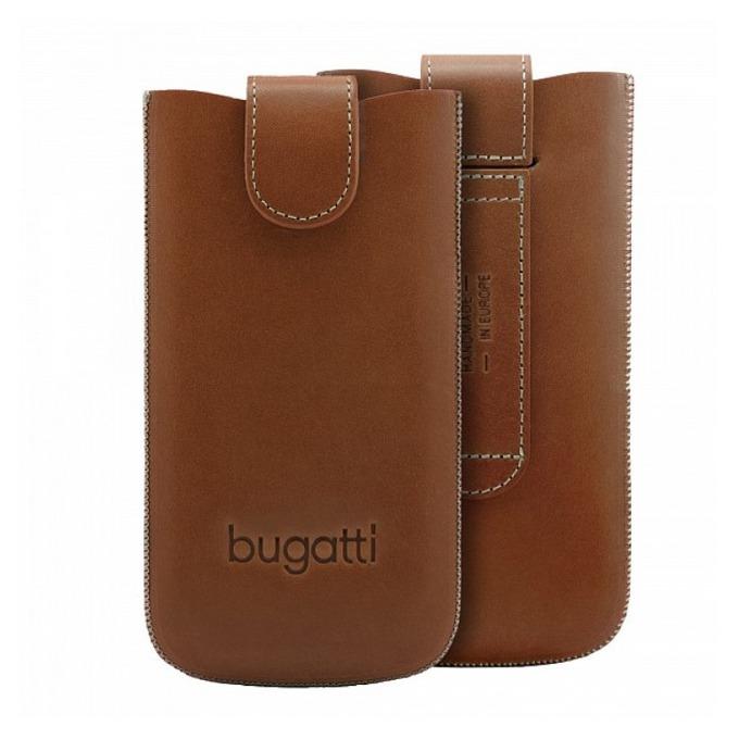 "Калъф ""джоб"" Bugatti SlimCase York 2XL, кафяв, естествена кожа image"