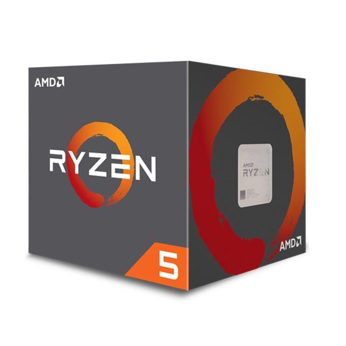 Процесор AMD Ryzen 5 1500X четириядрен (3.5/3.7GHz, 2MB L2/16MB L3 Cache, AM4) BOX, с охлаждане Wraith Spire image