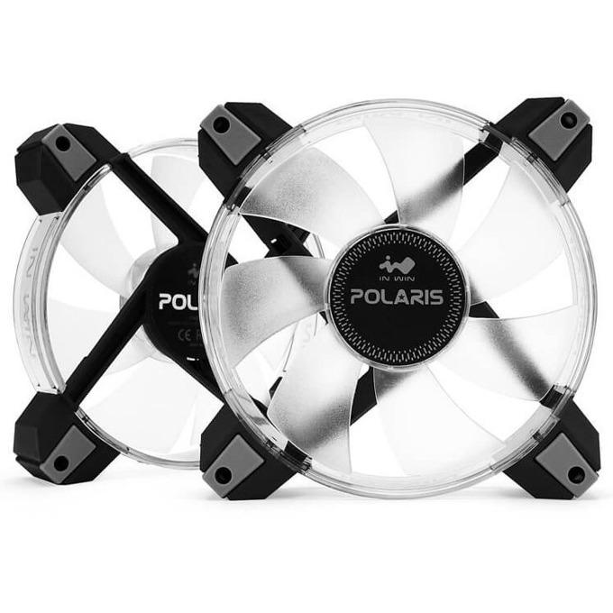 Вентилатори 2x 120mm, In-Win Polaris, 8-pin, 1280 rpm image