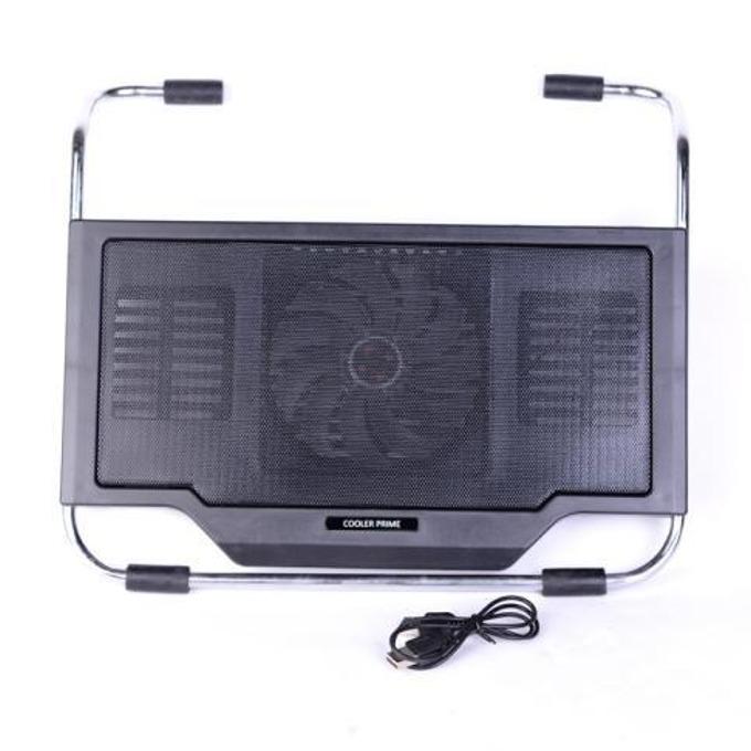 """Охлаждаща поставка за лаптоп 2000 Black ROY21014454, за лаптопи до 17.3""""(43.94cm), 2x USB, черна image"""