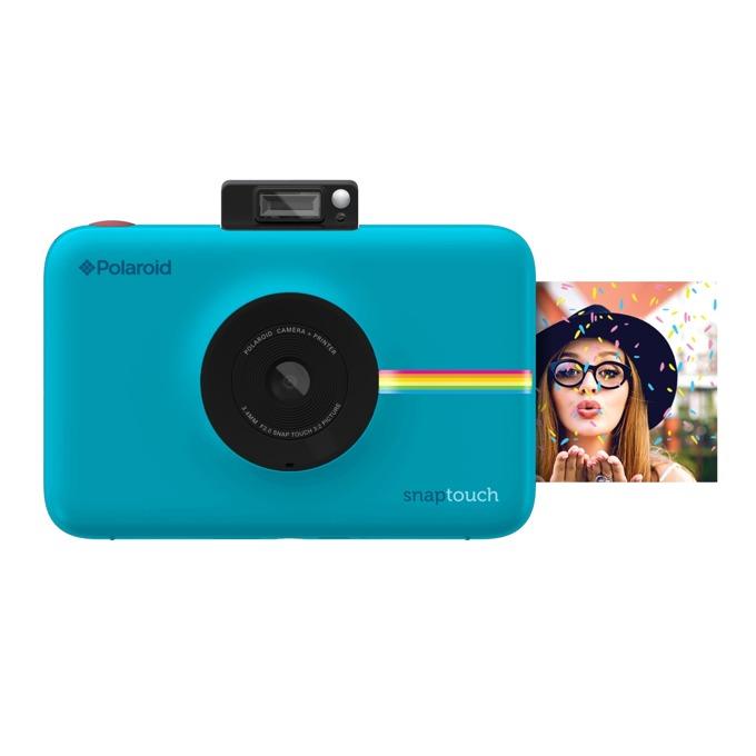 """Фотоапарат Polaroid SNAP TOUCH(син), 13.0 Mpix, 3.5"""" (8.89cm) сензорен дисплей, Bluetooth, micro USB, MicroSD слот image"""
