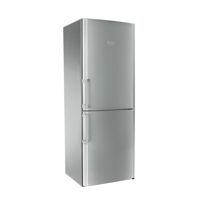 Хладилник с фризер Hotpoint Ariston ENBLH19221FW, клас A+, 450 л. общ обем, свободностоящ, 418 kWh/годишно, No Frost, Cold Shower System, SuperCool функция, инокс image