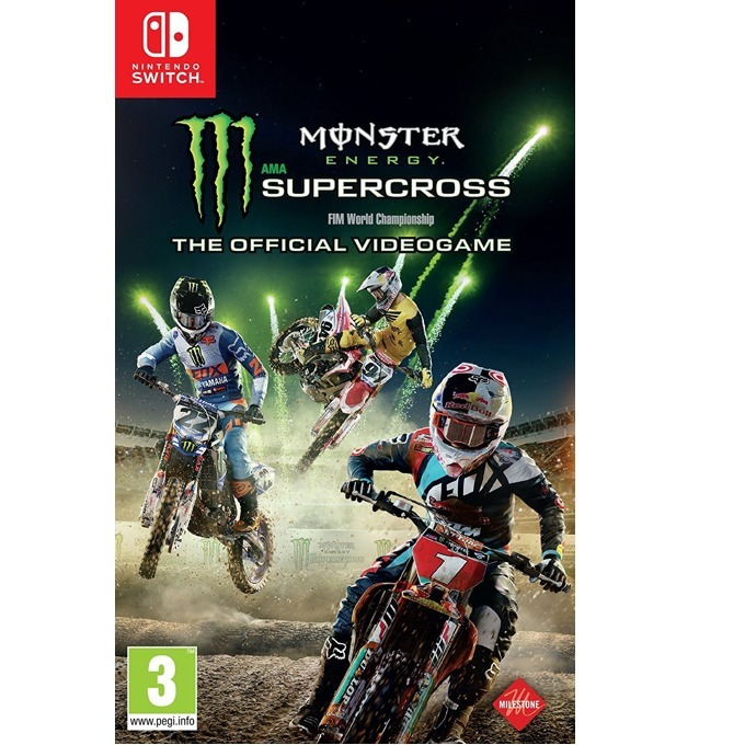 Monster Energy Supercross - The Official Videogame, за Switch image