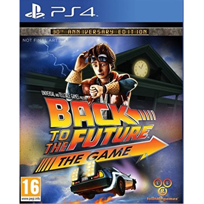 Back To The Future The Game 30th Anniversary Edition, за PS4 image