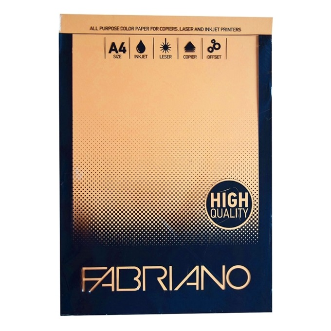 Fabriano A4, 160 g/m2, кайсия, 50 листа product