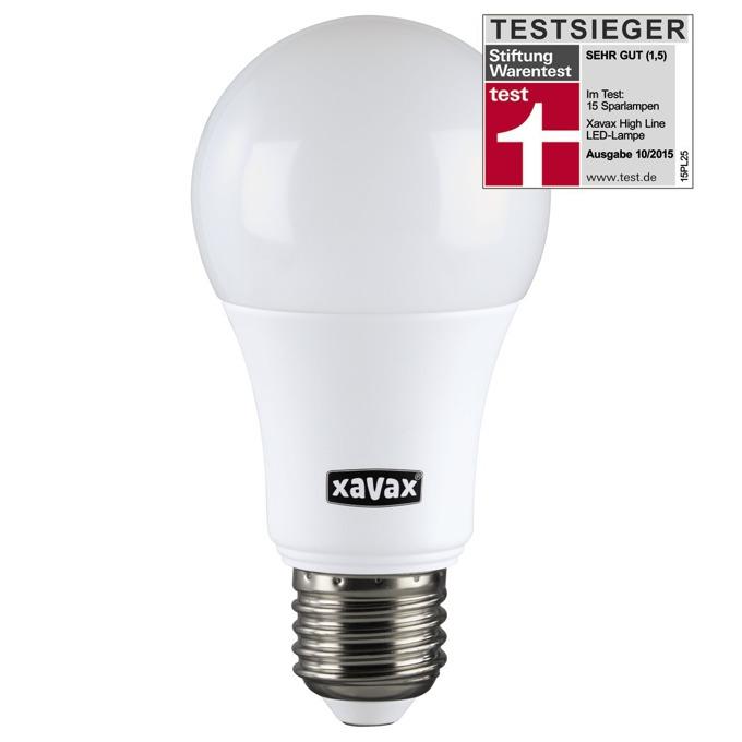 LED крушка XAVAX 112198, E27, А60, 9.2, 806lm, 2700K image