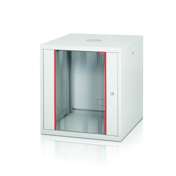 """Комуникационен шкаф Formrack GLD-12U560/ALFA-12U560, 19"""", 12U, 555 x 560 mm, бял image"""