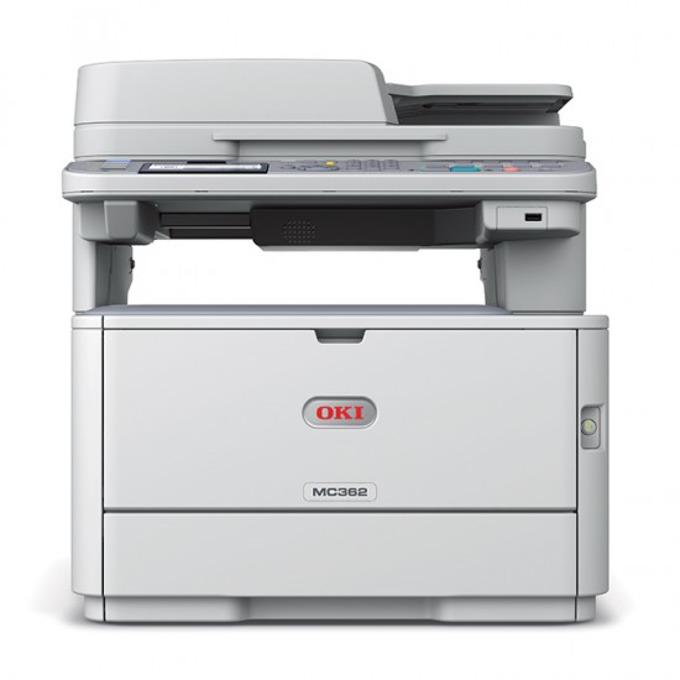 Мултифункционално LED устройство OKI MC362dn, цветен принтер/копир/скенер/факс, 1200 x 600 dpi, 24стр/мин, Lan100, USB, A4 image