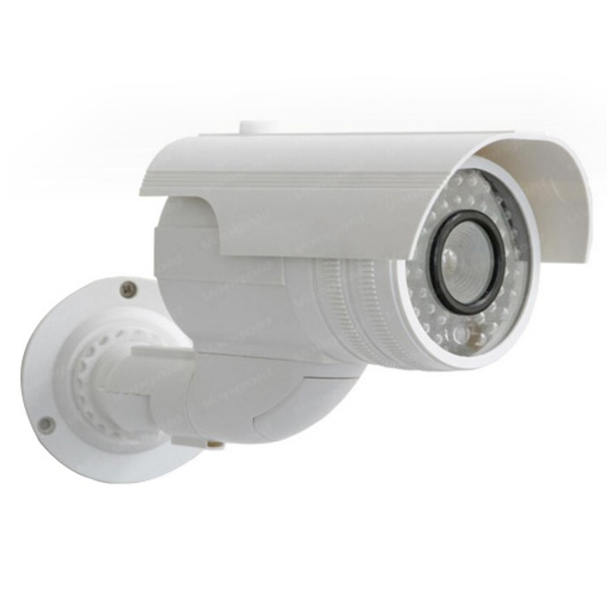 """Бутафорна камера Privileg VG-CD2100IR, насочена (""""bullet"""") камера, външна, водоустойчива image"""