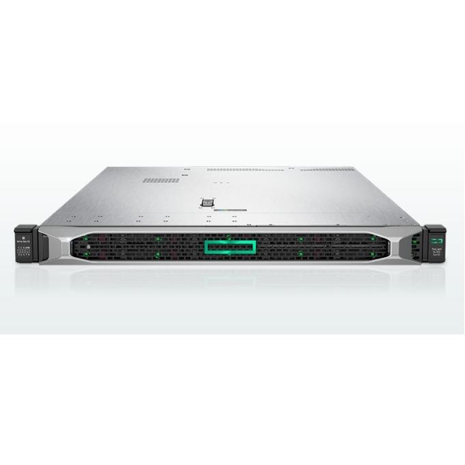 Сървър HPE DL360 G10 (867961-B21), осемядрен Intel Xeon Bronze 3106 1.70 GHz, 16GB RDIMM DDR4, No HDD, 4x 1GbE LAN, 5x USB 3.0, без OS, 1x 500W image