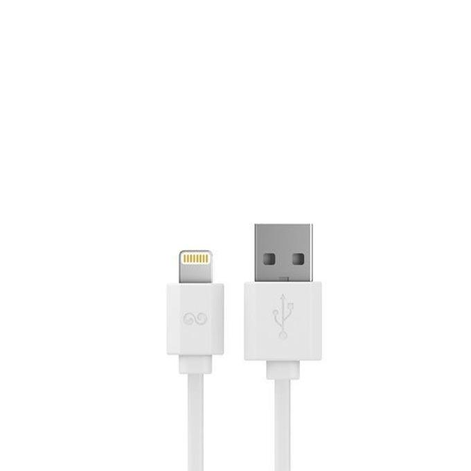Кабел iWalk, USB(м) към Lightning(м), 2m, бял image