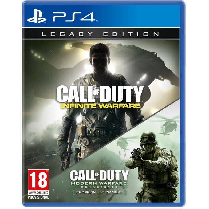 Call of Duty: Infinite Warfare Legacy Edition, за PS4 image