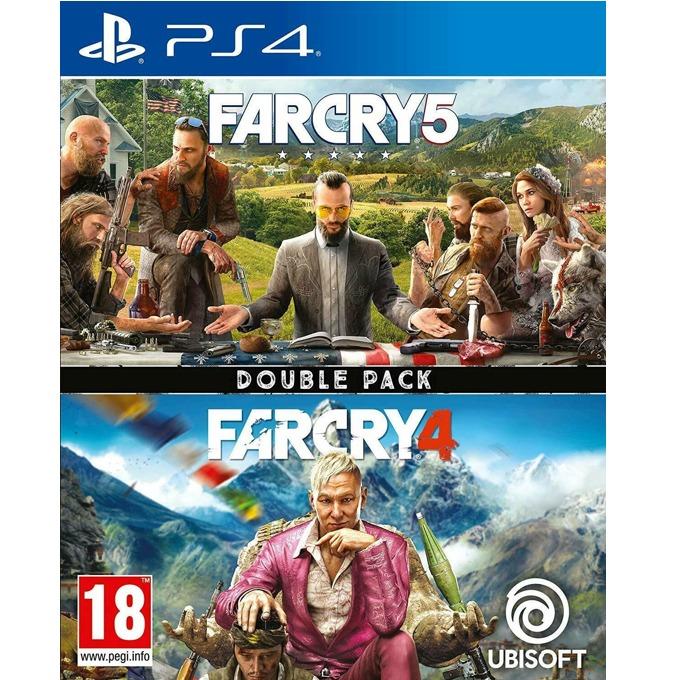 Игра за конзола Far Cry 5 + Far Cry 4, за PS4 image