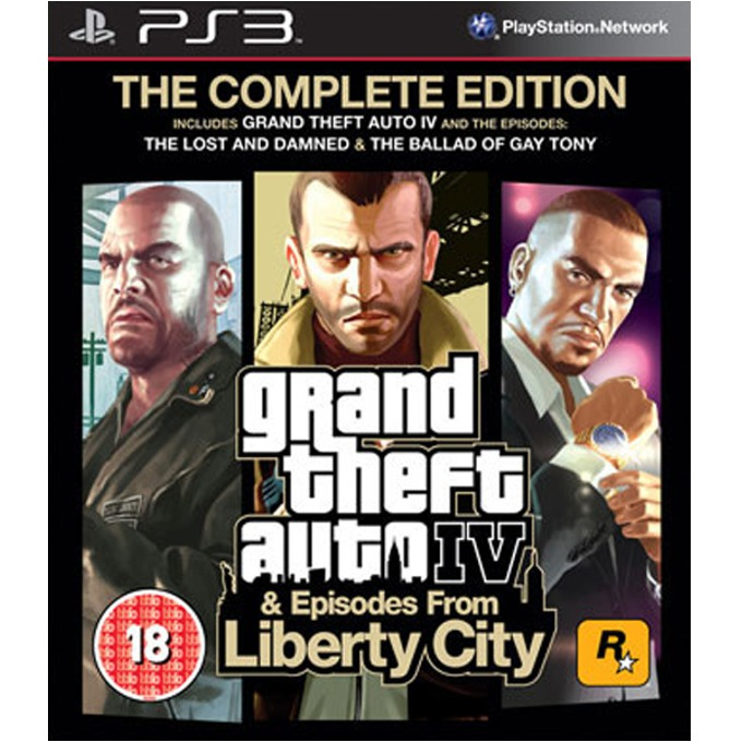 Grand Theft Auto IV Complete Edition, за PlayStation 3 image