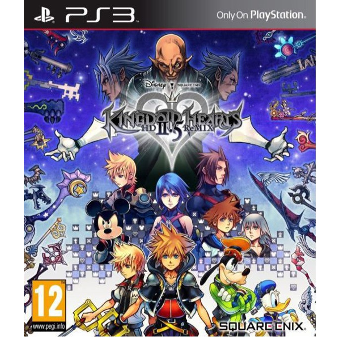 Kingdom Hearts HD 2.5 Remix, за PlayStation 3 image