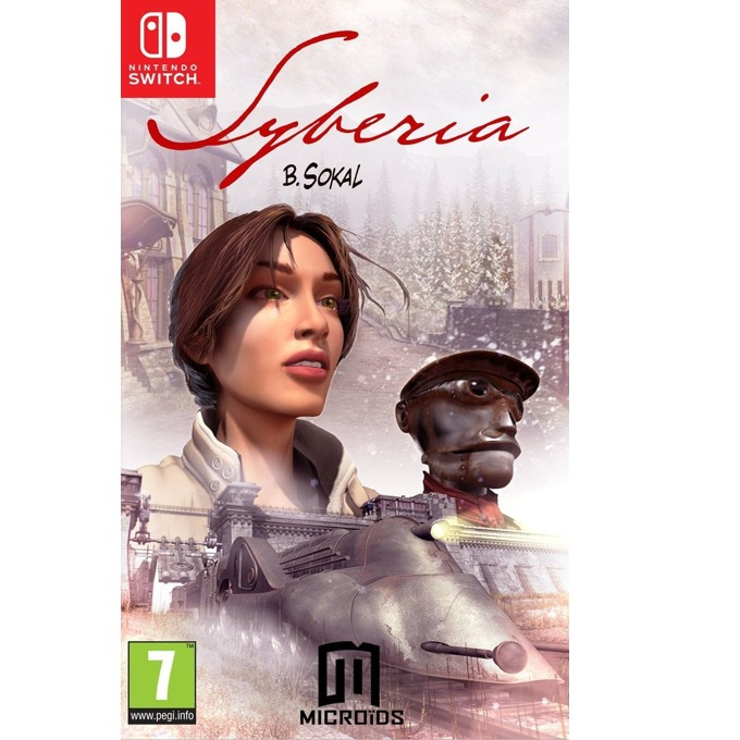 Игра за конзола Syberia, за Switch image