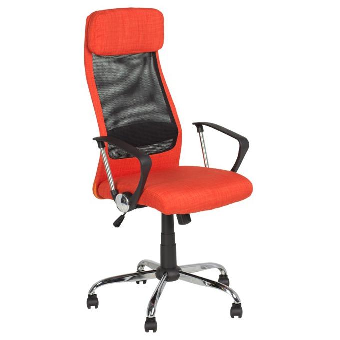 Директорски стол Carmen 6183, оранжев image