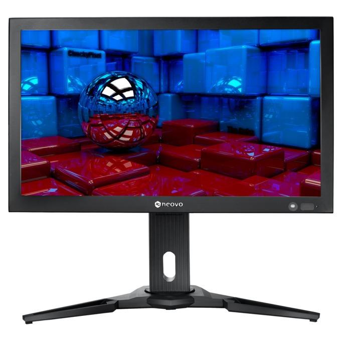 """Монитор AG NEOVO QX-24, 23.8""""(60.45 cm), IPS LED панел, 4K UHD, 4ms, 1000:1, 300 cd/m2, VGA, HDMI, DVI-D, DisplayPort, RS232, USB image"""