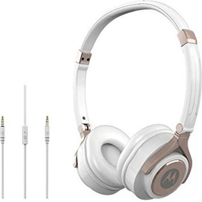 Слушалки Motorola Pulse Max, 3.5 мм жак, бели image