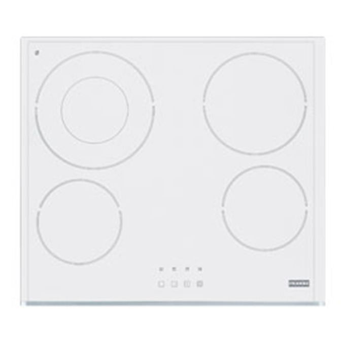Плот за вграждане FRANKE Induzione H6041E4ITPWLWH, 4 нагревателни зони, 9 нива на мощност, сензорно управление, система за защита от деца, бял image