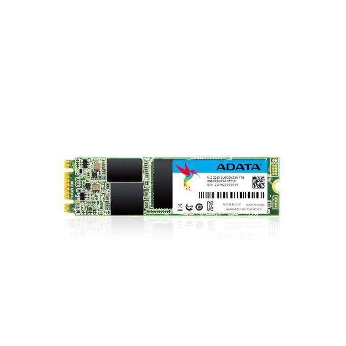 Памет SSD 512GB A-Data SU800, SATA 6Gb/s, M.2 (2280), скорост на четене 560MB/s, скорост на запис 520MB/s image