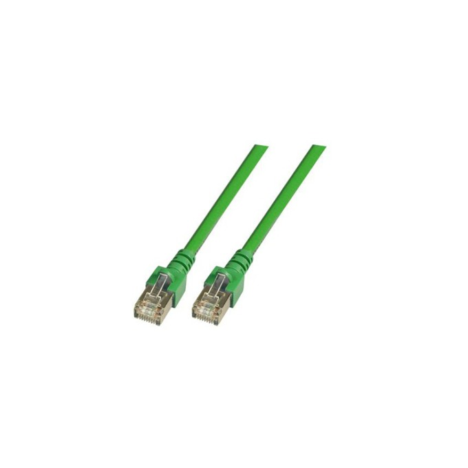 Пач кабел FTP EFB Elektronik, 2m, Cat 5E, зелен image