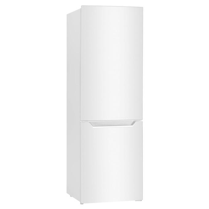 Хладилник с фризер Crown CBR-312W, клас A+, 309л. общ обем, свободностоящ, 273 kWh/годишно, саморазмразяване на хладилната част, стъклени полици image