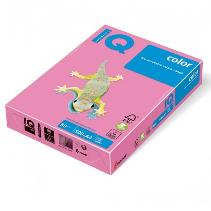 Картон Mondi PI25, Цветен, А4, 160g/m2, 250л., розов image