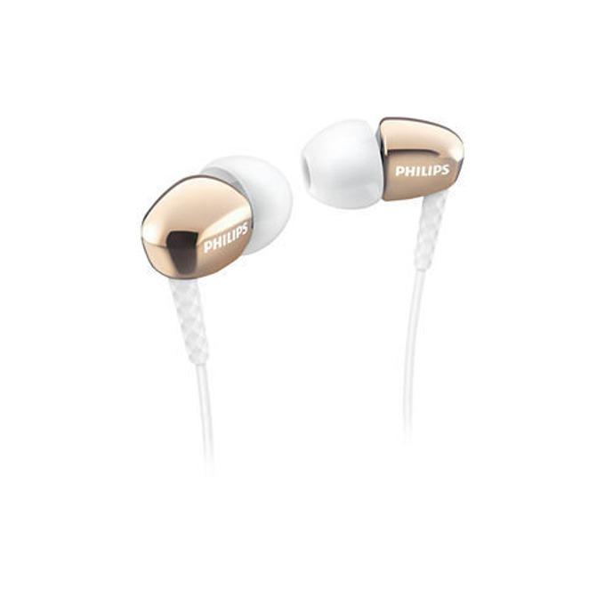 Слушалки Philips SHE3900GD тип тапи, позлатен накрайник image