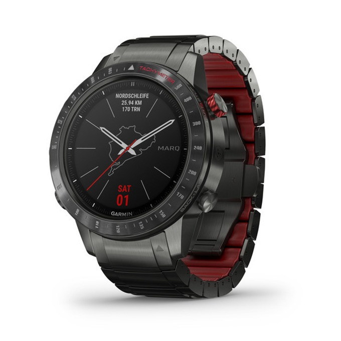 Смарт часовник Garmin MARQ™ Driver, 30.4 мм диаметър на дисплея, 32GB памет, водоустойчив(10 ATM), черен image