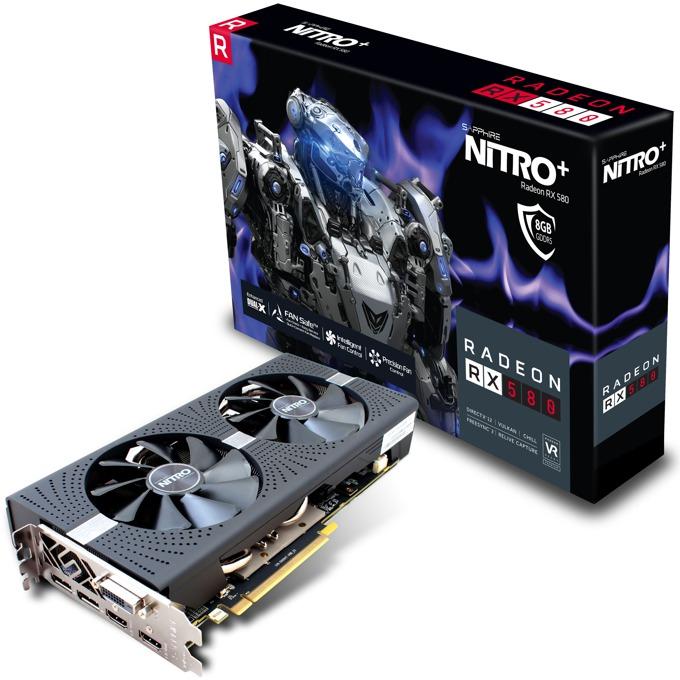 Sapphire NITRO+ Radeon RX 580 8GD5 11265-01-20G