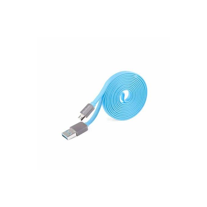 Кабел Yoobao, от USB A(м)към USB micro B(5-pin)(м) , 1.5m, син image
