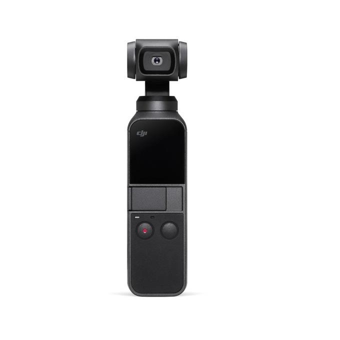 Екшън камера DJI OSMO Pocket, 4K Ultra HD, тъчскриин дисплей, Micro SD, до 140 мин. работа, USB Type C, Wi-Fi, с гимбал, Auto-Tracking технология, черна image