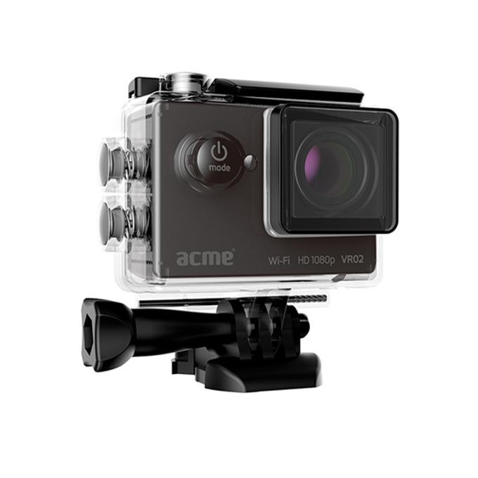 """Екшън камера Acme VR02, Full HD, 2"""" (5.08 cm) LCD дисплей, microSD card слот, micro HDMI micro USB, Wi-Fi image"""