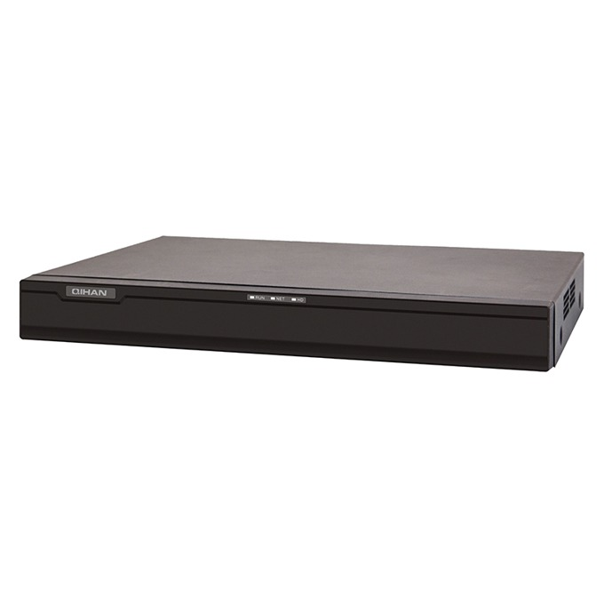 Видеорекордер NVR, Qihan, 4k@1080P 5MP, Full HD, VGA, HDMI, ONVIF, 1x4TB image