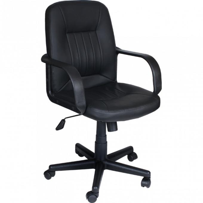 Мениджърски Стол COOL, Еко кожа, Люлеещ механизъм, Подлакътници, черен image