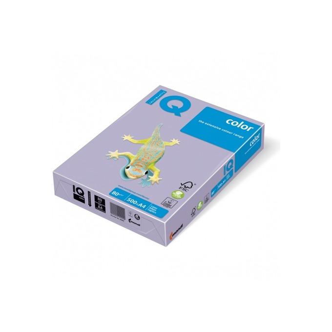 Хартия Mondi IQ Color LA12, A4, 80 g/m2, 500 листа, лилава image