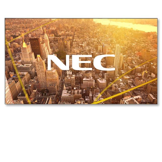 "Публичен дисплей NEC X464UNV-3, 46""(116.84 cm), 4K UHD, VGA, HDMI, DVI-D, Displayport, RS232, LAN, черен  image"