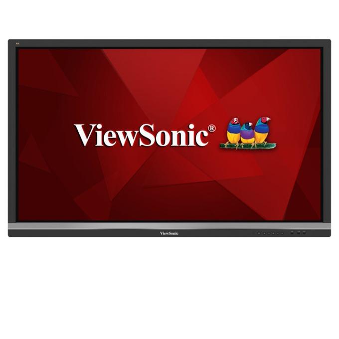 "Интерактивен дисплей Viewsonic IFP5550, 55""(139.7 cm), 4K UHD, Infrared multi touch, VGA, HDMI, DisplayPort, RS232, RCA, SPDIF, USB, Wireless, LAN, черен image"