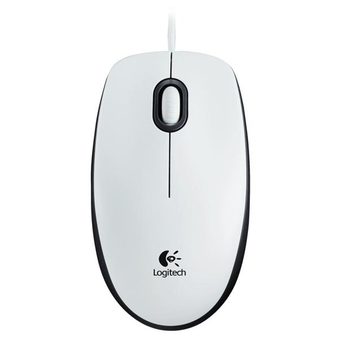 Logitech M100 бяла