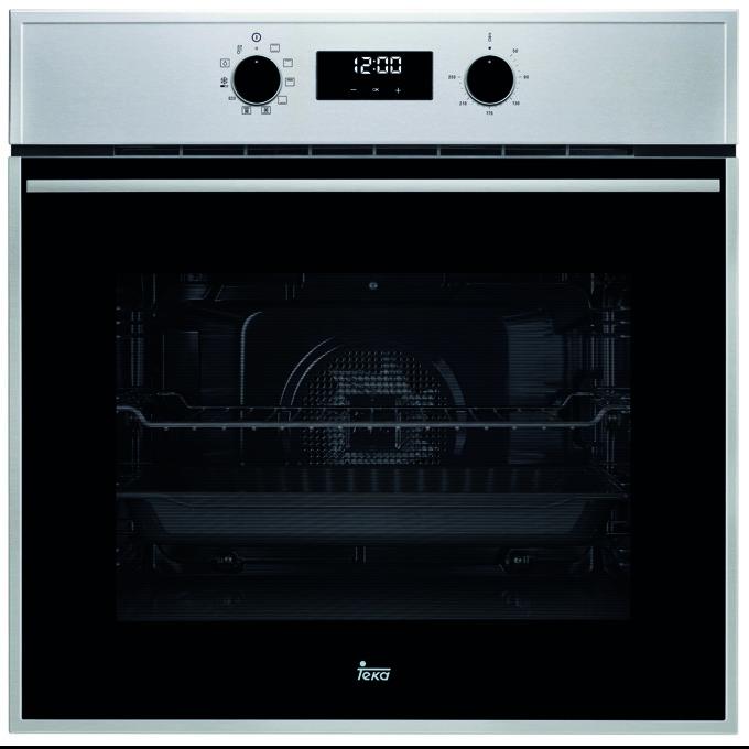 Фурна за вграждане Teka Wish HSB 645, клас А+, 70 л. обем, вентилатор, 9 функции + Hydroclean, LED дисплей, динамична охлаждаща система, черна image