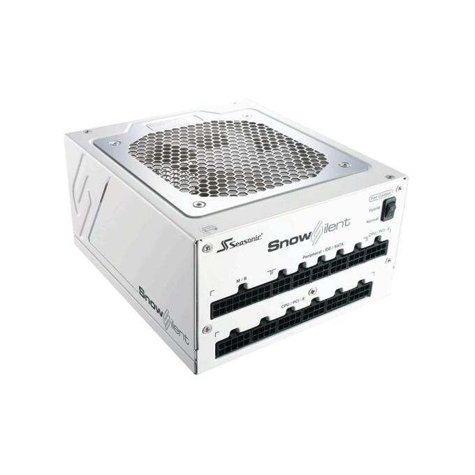 Захранване Seasonic Snow Silent 750 (SS-750XP2S), PSU 750W, Active PFC, 80 Plus Platinum, 120mm вентилатор image
