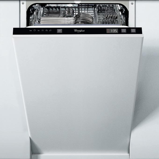 Съдомиялна за вграждане Whirlpool ADG201, клас А, 9 комплекта, 5 програми, статична система на изсушаване, бяла image