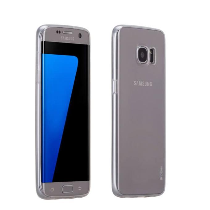 Термополиуретанов протектор Devia Naked Case, Galaxy S7 Edge, прозрачен image